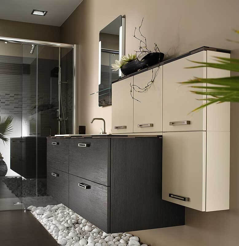 Furniture design for bathroom for space saving