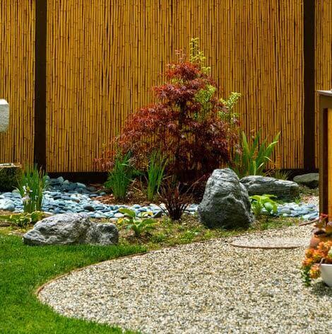 Japanese garden design special for terrace