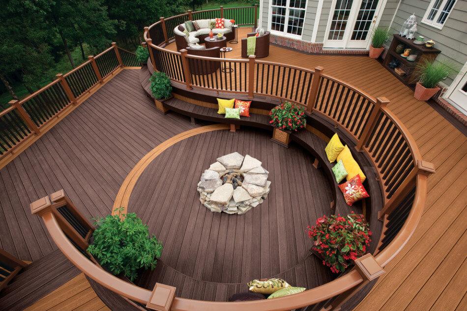 Modern terrace design