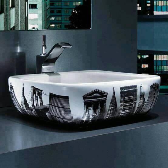 Modern washbasin design