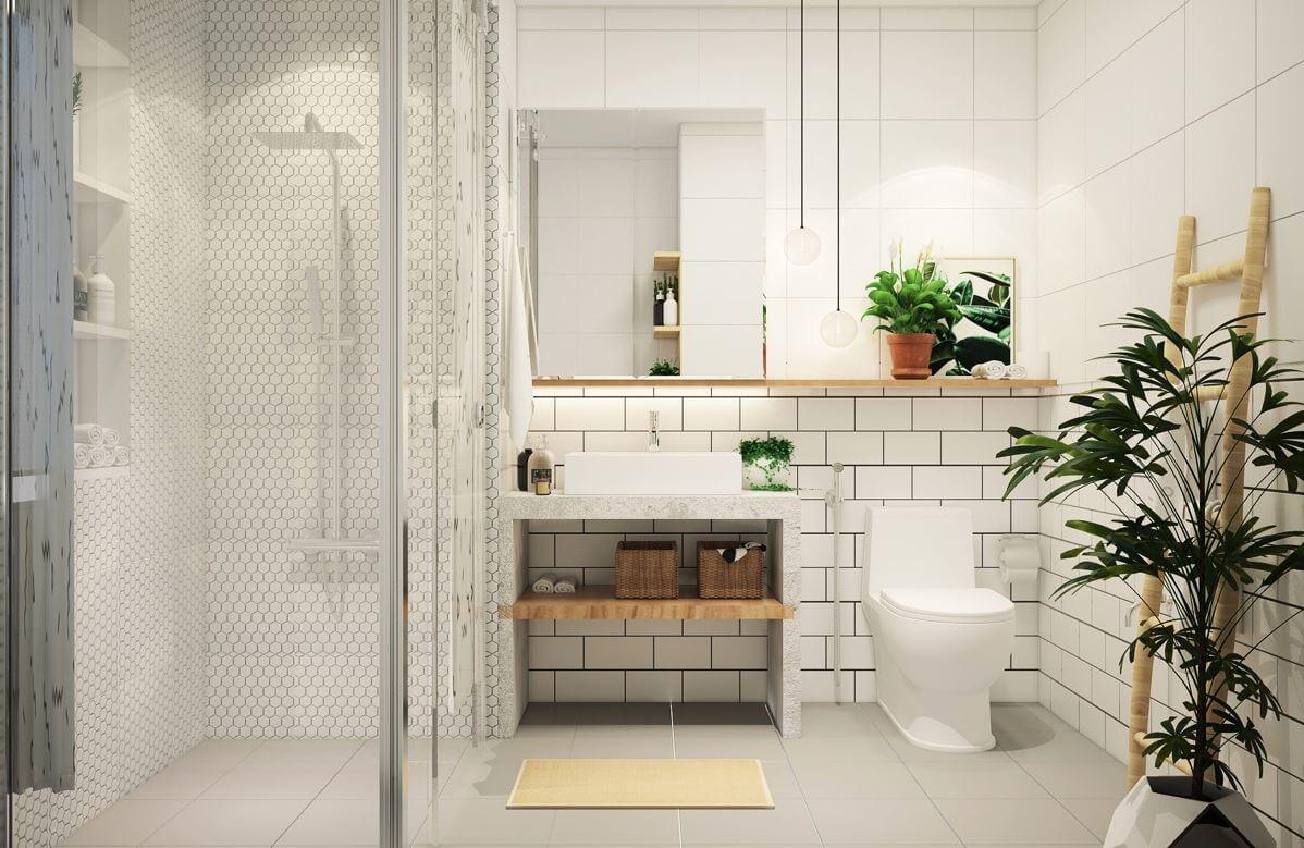 Simple bathroom to do yourself