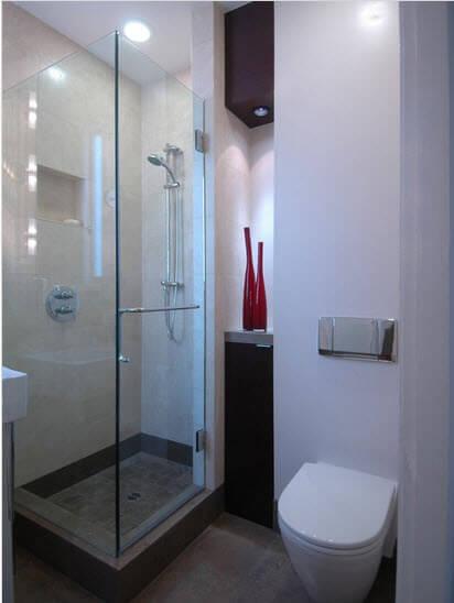 Square bathroom design ideas