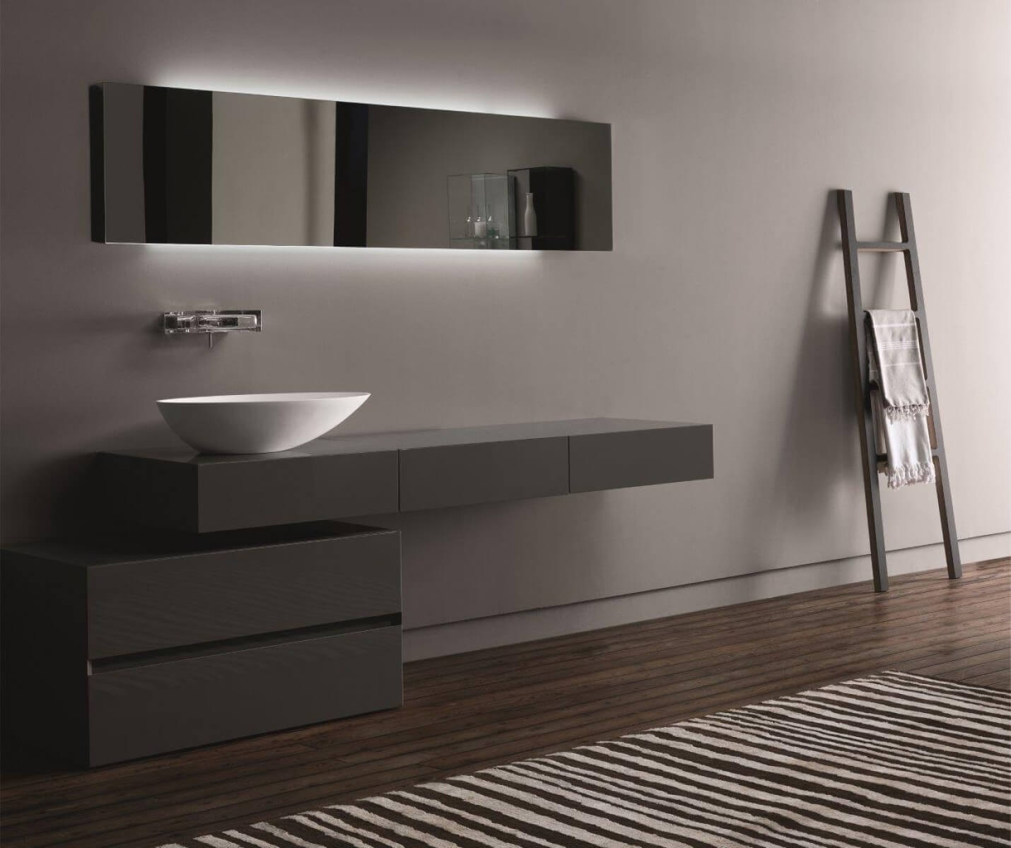 Ultra modern design for bathroom