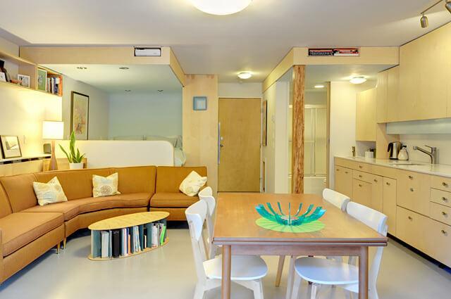 single bedroom apartment design
