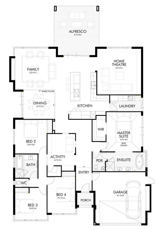 House floor plan design idea