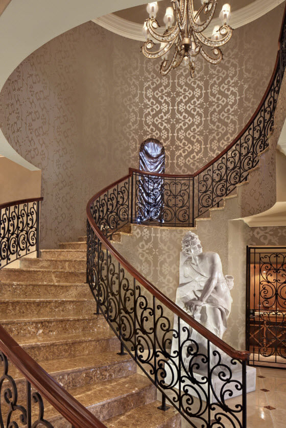 Exclusive designs luxury stairs