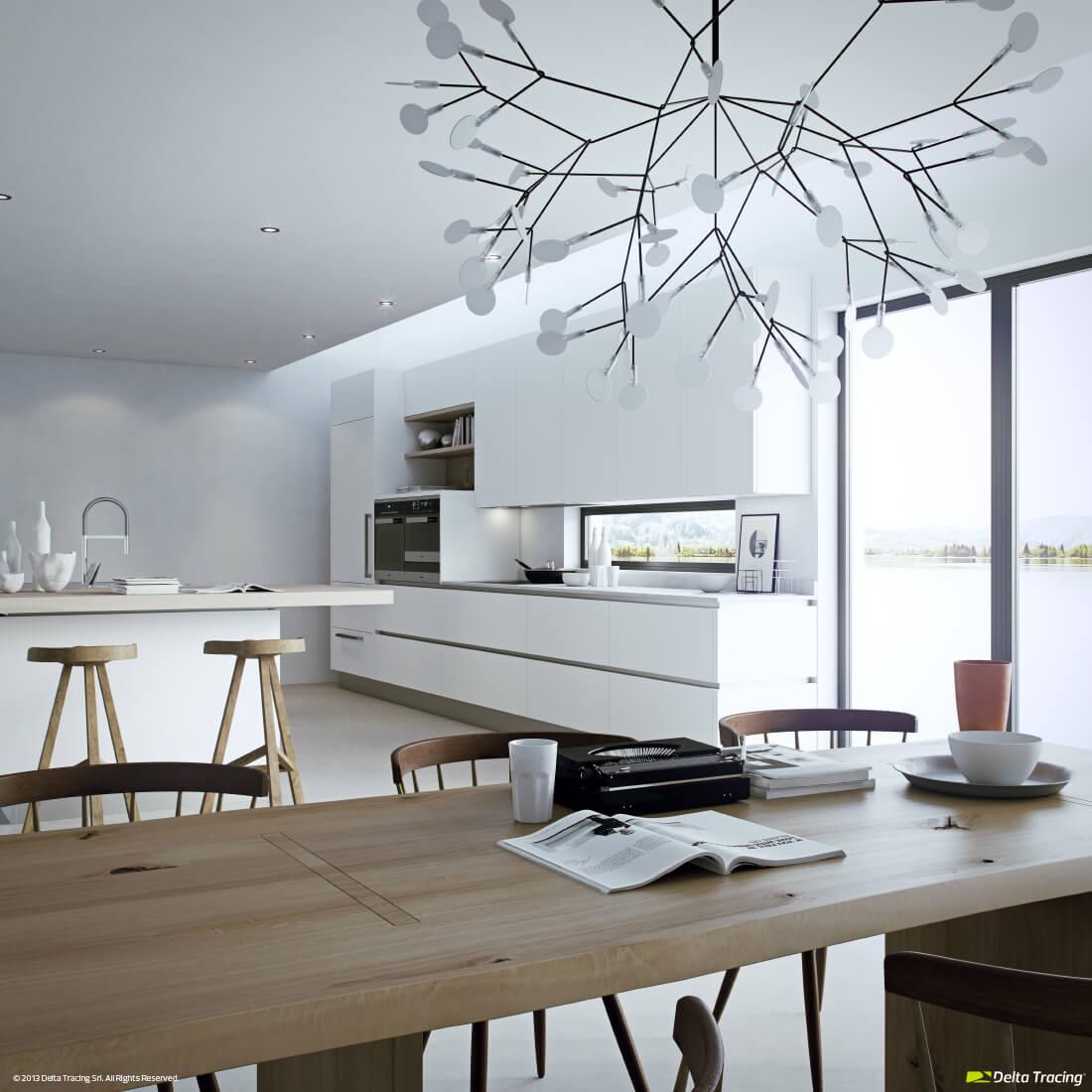Exclusive kitchen lamp design