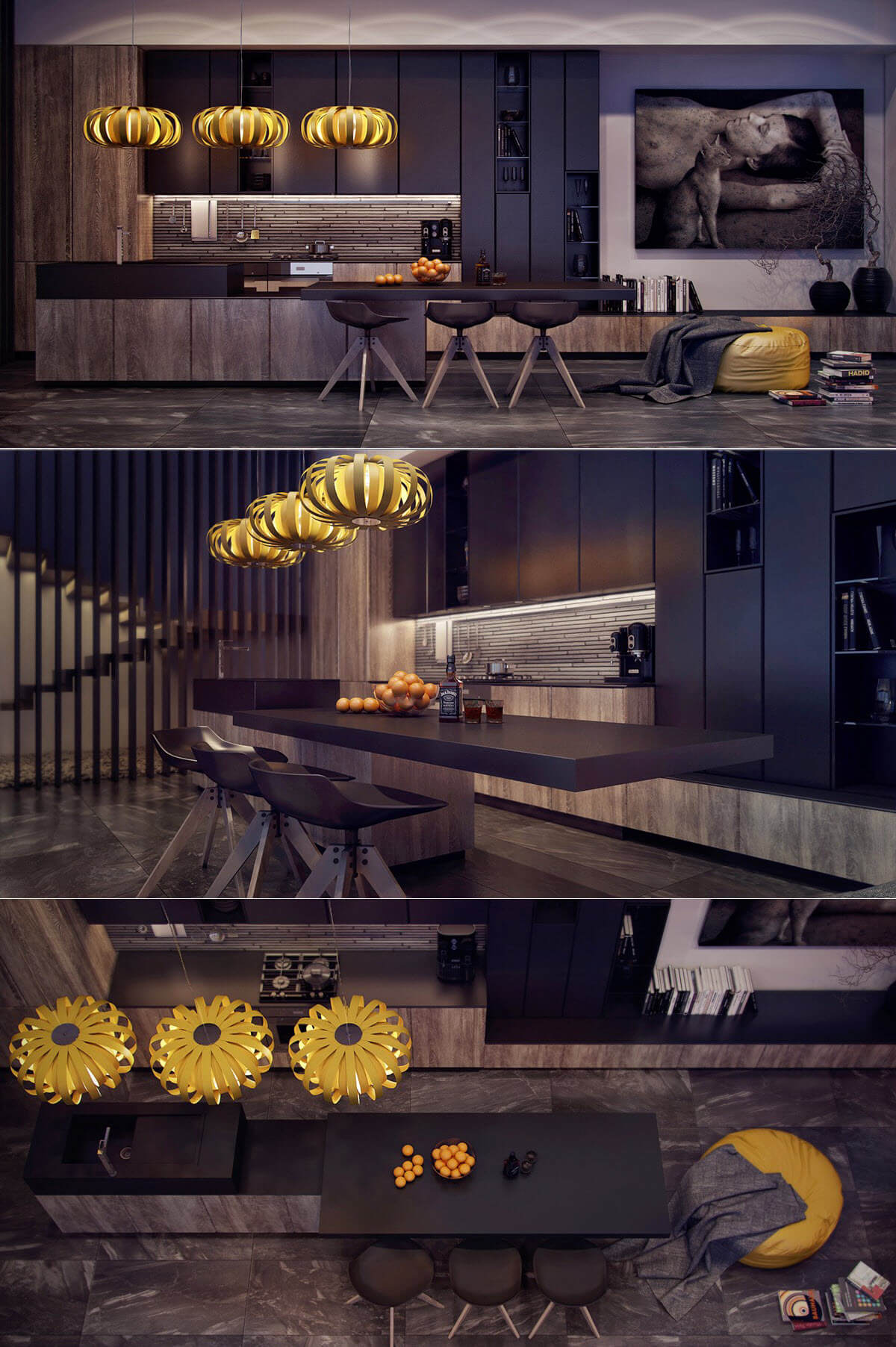 Kitchen design with style and art