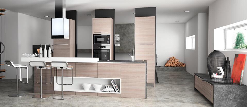 Kitchen design wooden furniture