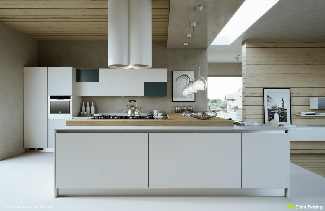 Lamps for kitchen design