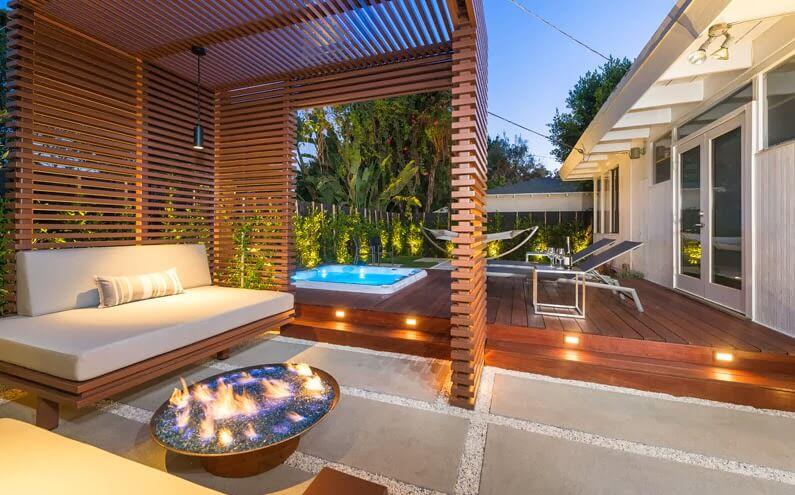 Modern Wooden Terrace