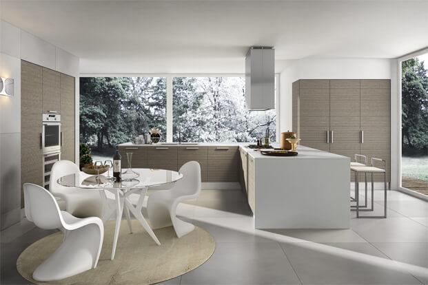 Modern, elegant and practical kitchen design