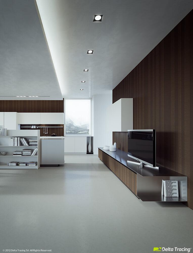 Modern kitchen ceiling fixtures