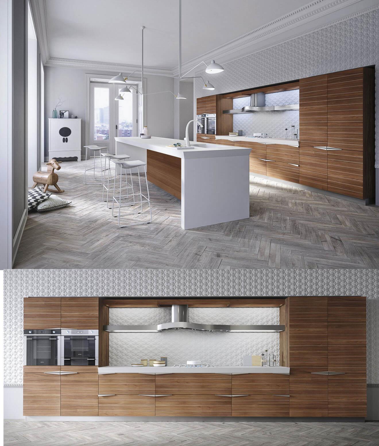 Modern kitchen furniture idea