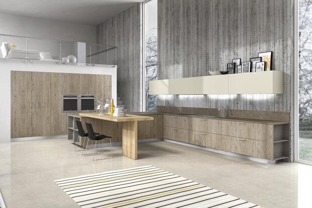 Modern modern kitchen design for apartment