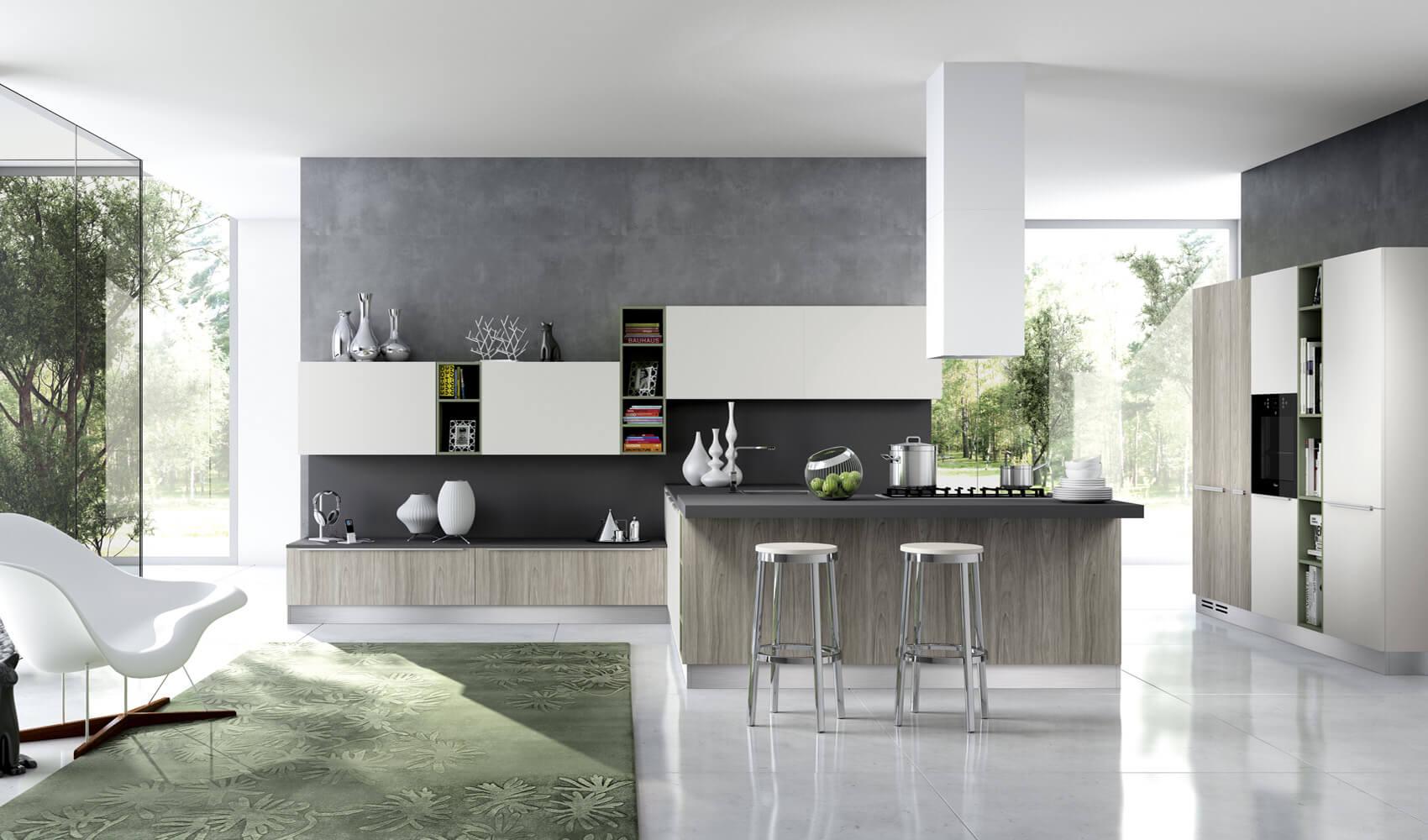 Modern popular art kitchen design