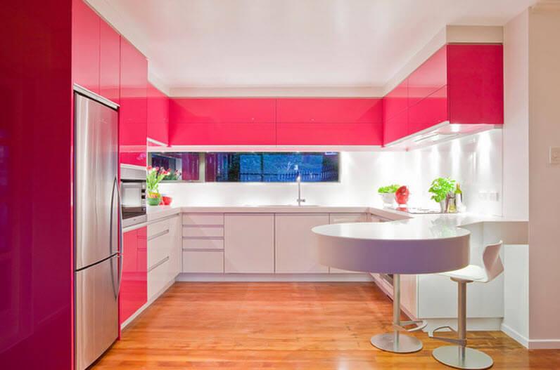modern kitchen with island design