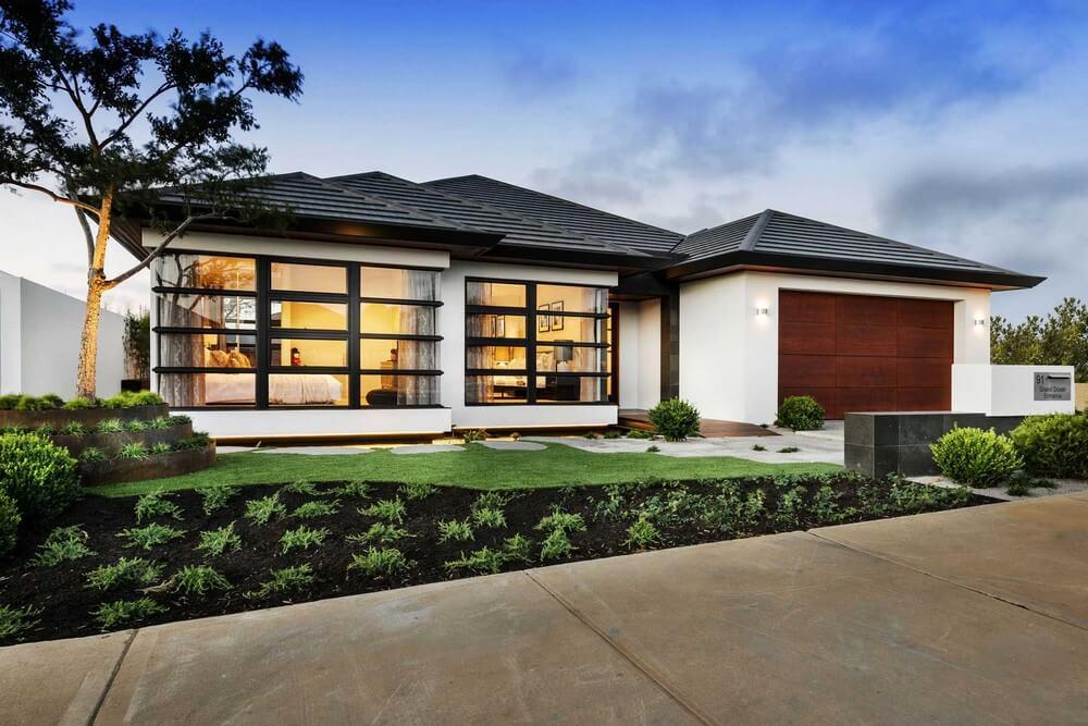 oriental style house facade