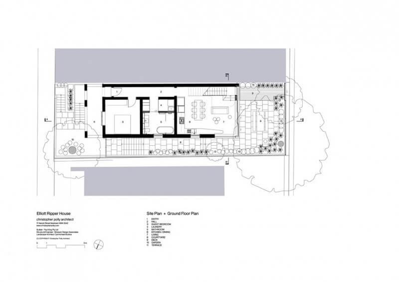 House floor plan - first floor