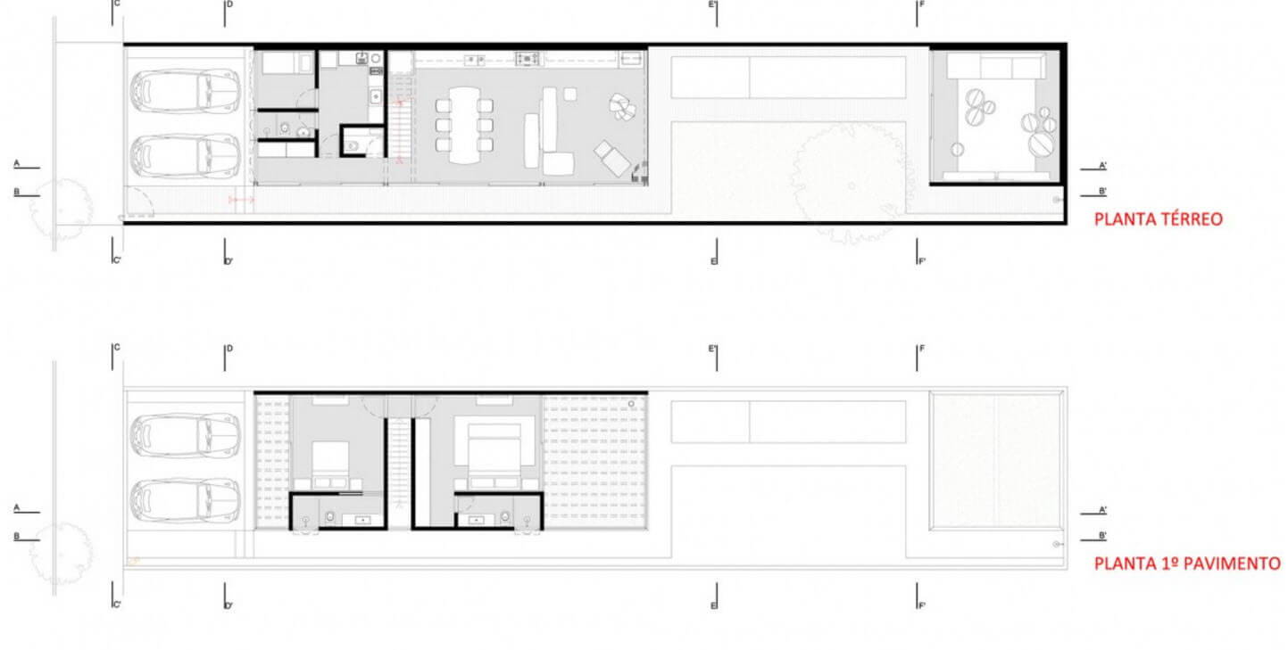 Small and narrow house plans