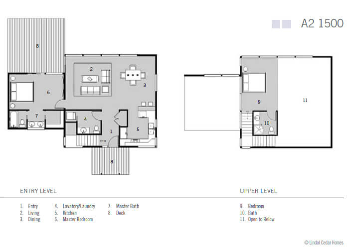 Small house with two bedrooms