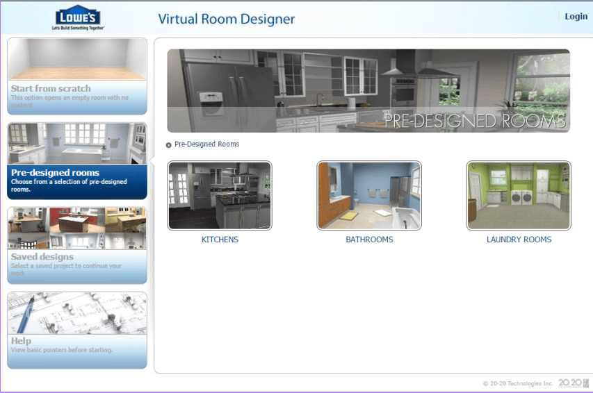 21 best online home interior exterior design software for Interactive room planner