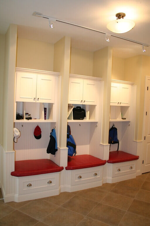 Mudroom Storage Baskets : Superb mudroom entryway design ideas with benches