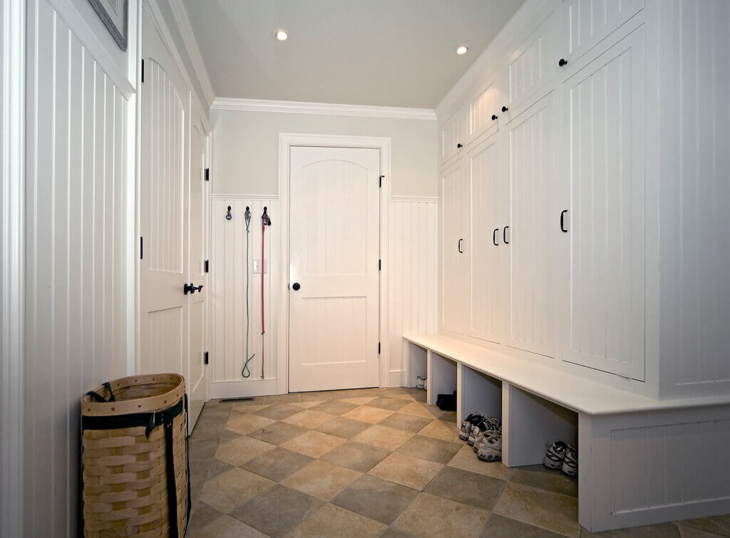 45 superb mudroom entryway design ideas with benches Mudroom floor