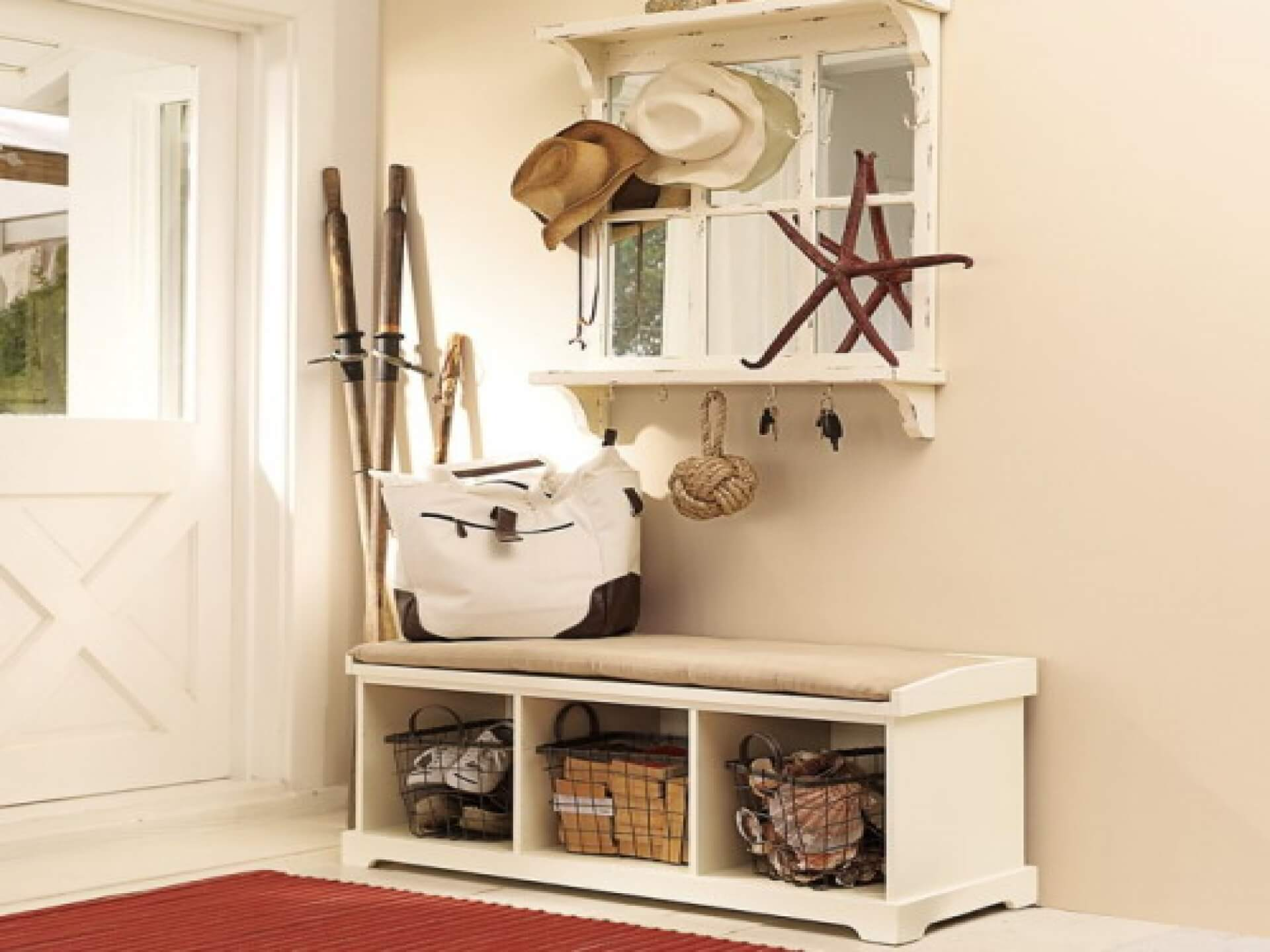 45 Superb Mudroom & Entryway Design Ideas with Benches