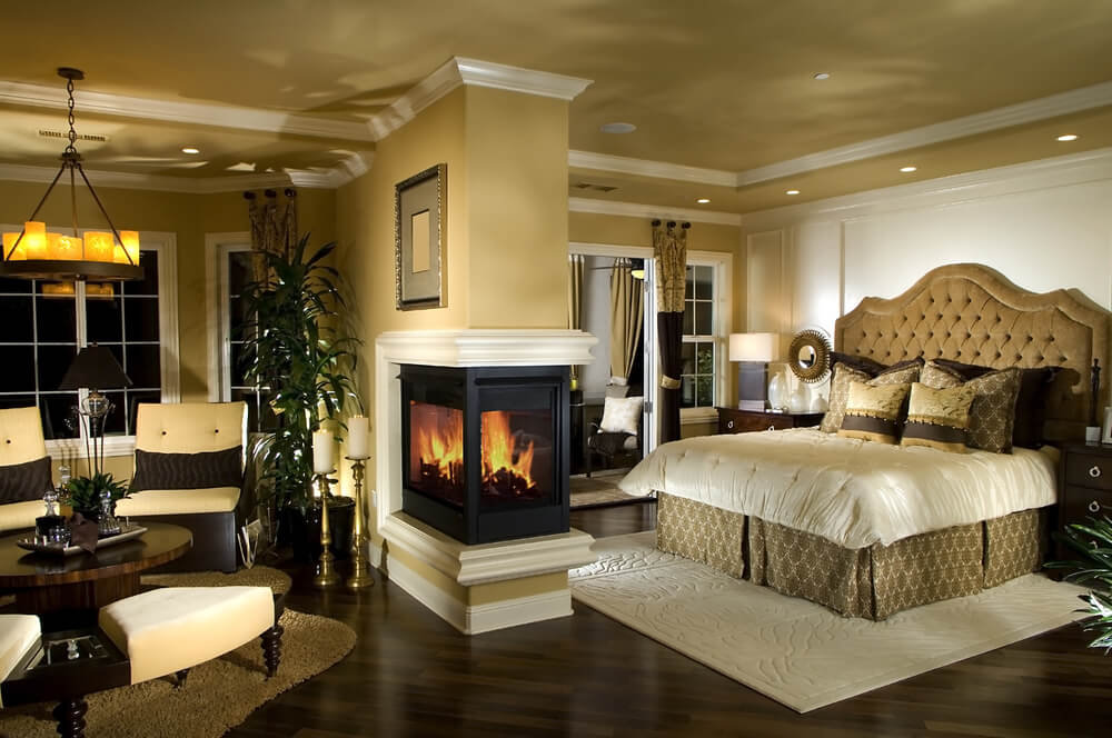 Classic Master Bedroom Decorating Ideas Colors Black White Gray And Yellow