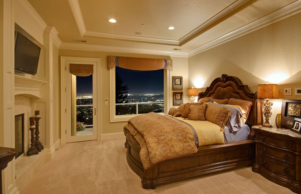 Custom classic master bedroom decorating ideas on a budget pictures