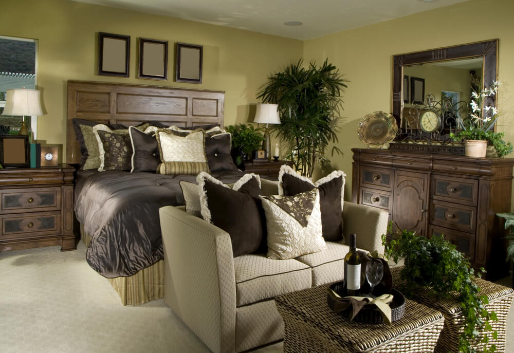 luxurious master bedroom design ideas classical conversations reviews with beautiful dark brown color bed frame - The Best Master Bedroom Design
