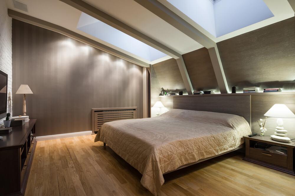 Master Bedroom Lighting Ideas Vaulted Ceiling