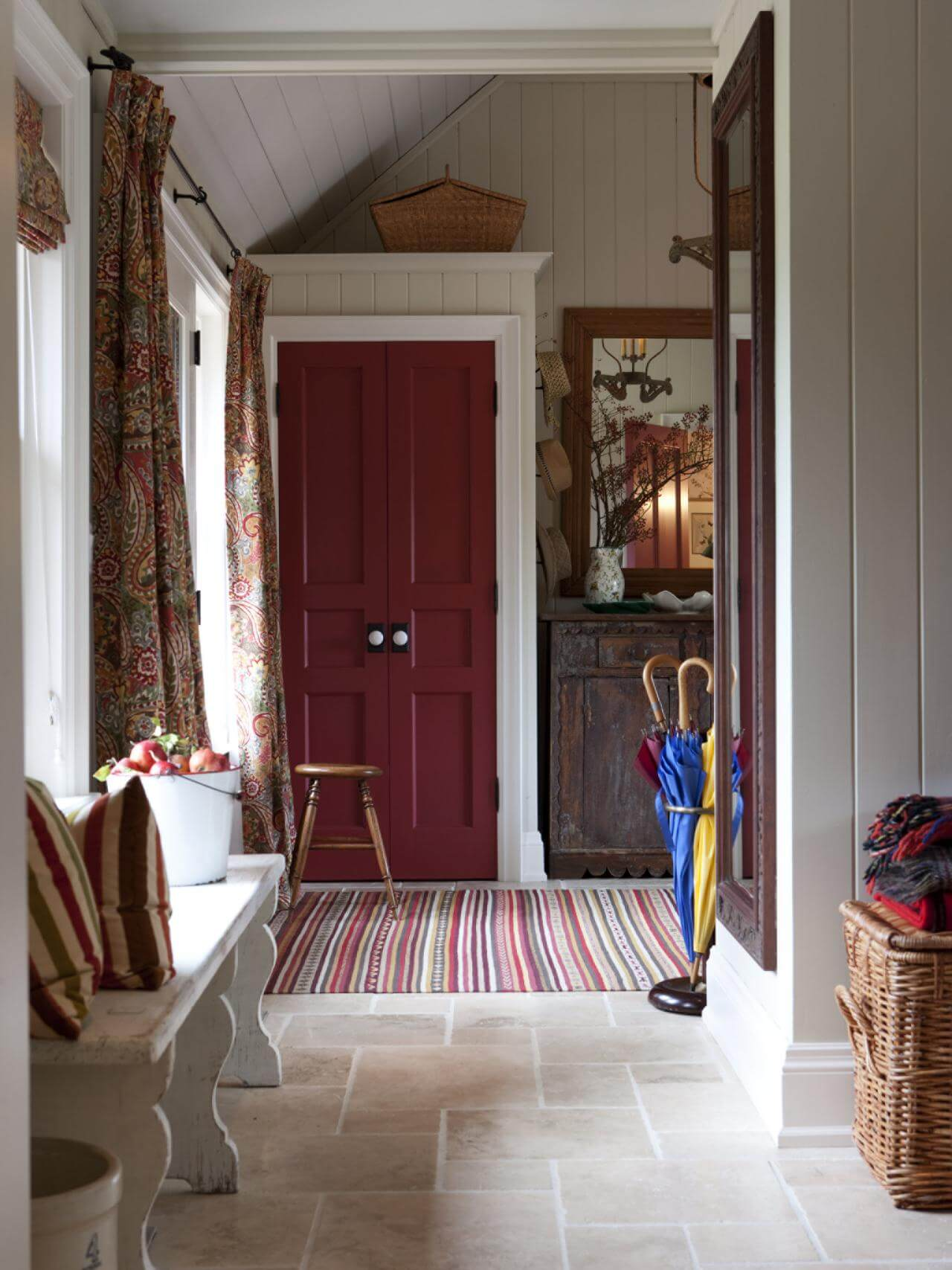 Foyer With Mudroom : Superb mudroom entryway design ideas with benches