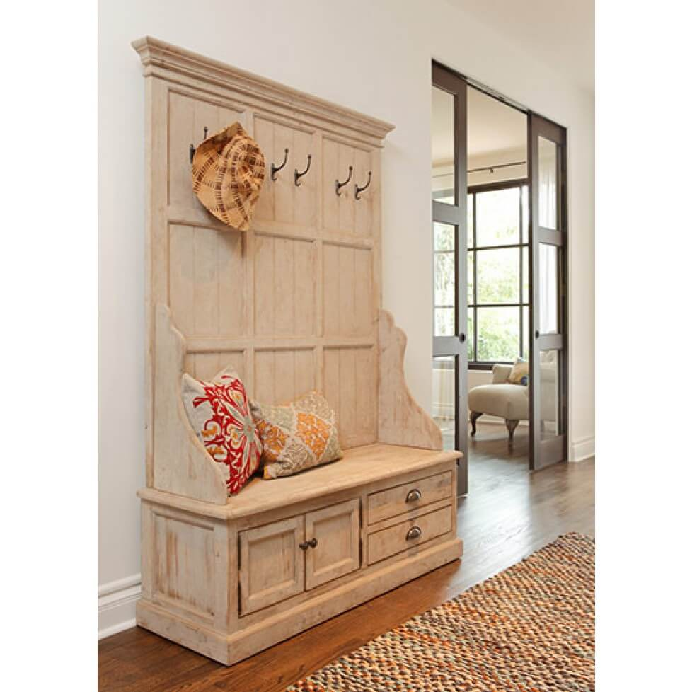Foyer Furniture With Storage : Superb mudroom entryway design ideas with benches