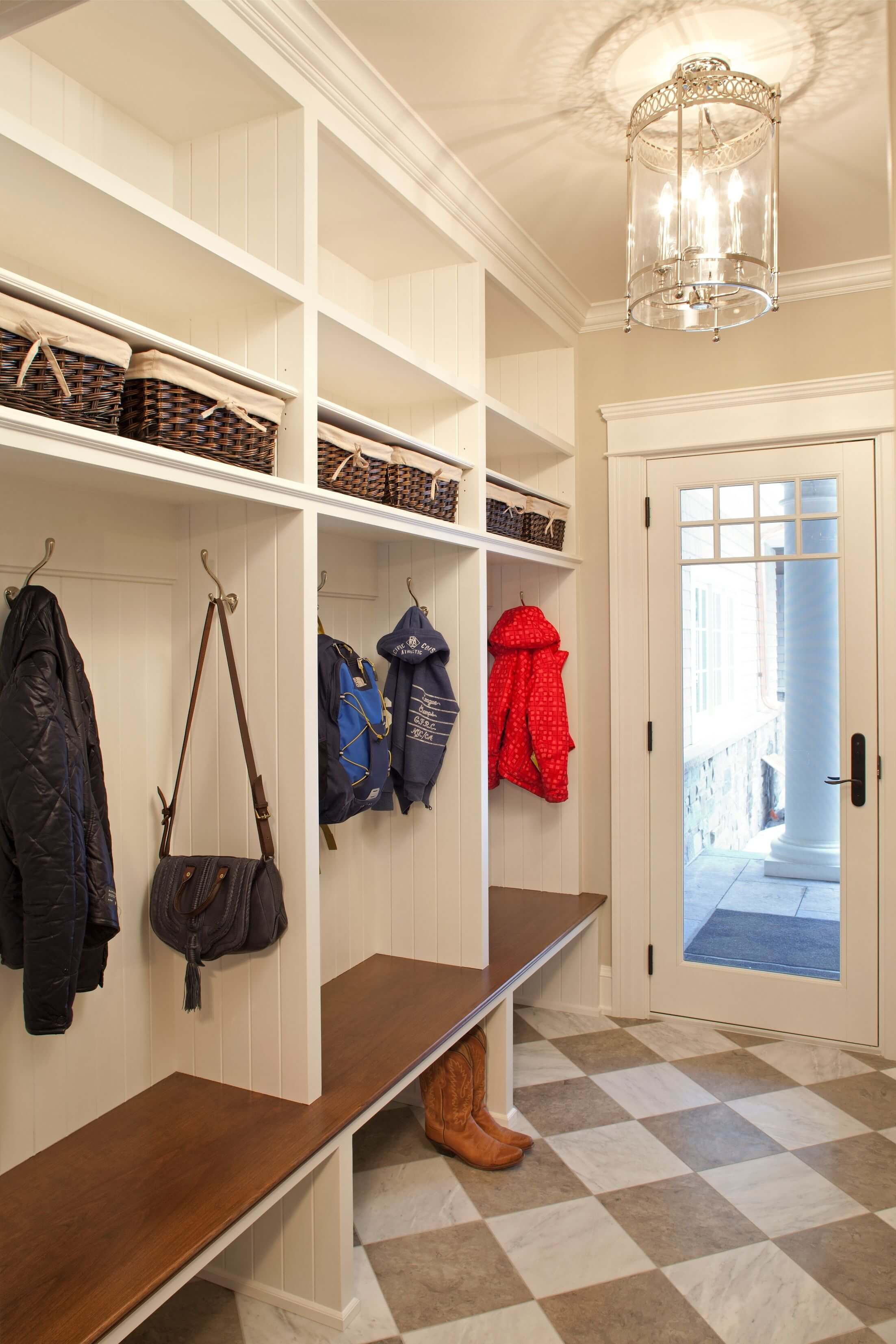 Mudroom Closet Organization Ideas Part - 50: Mudroom Storage Cabinet Plans