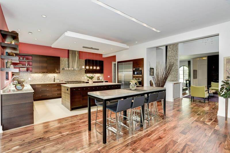 Dining Room with High-Top Table