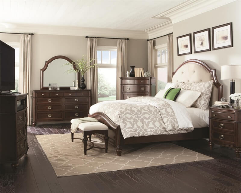 Bedrooms with Fabric Headboards