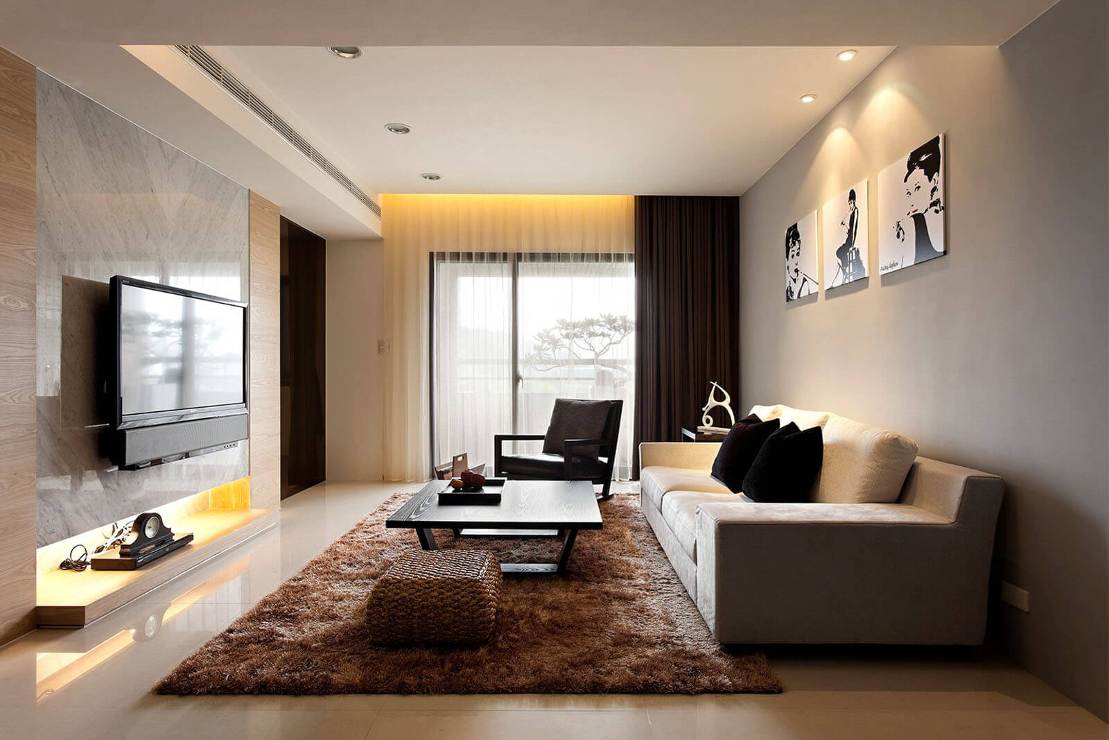 Contemporary living room design tips - Find the latest tips and tricks and also the latest trends in home decoration.