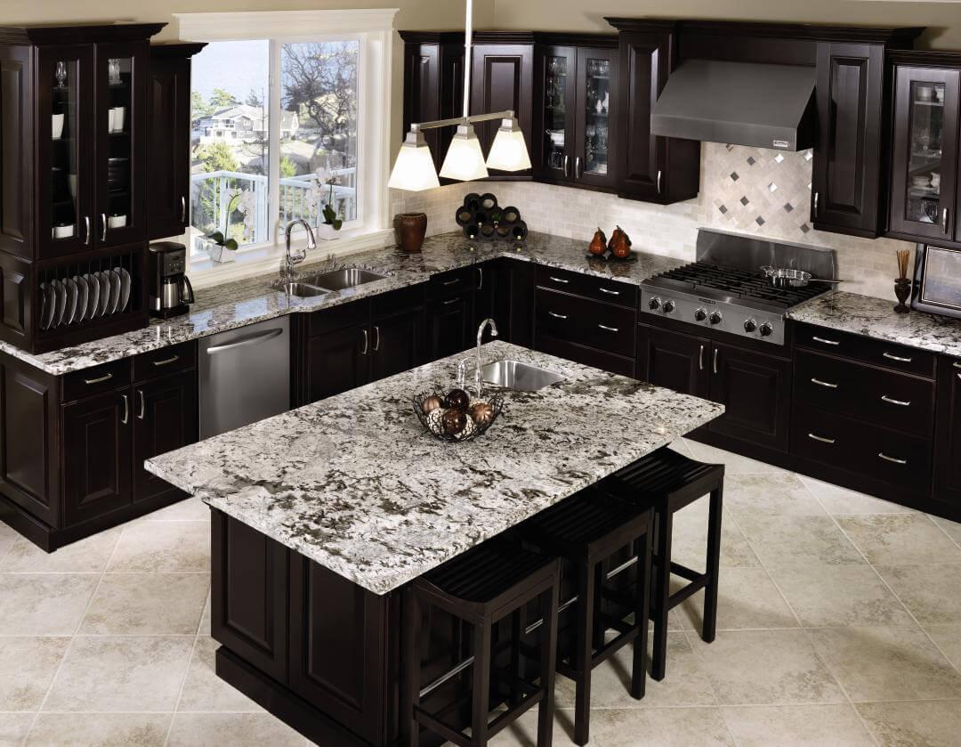 Kitchens Black Cabinets