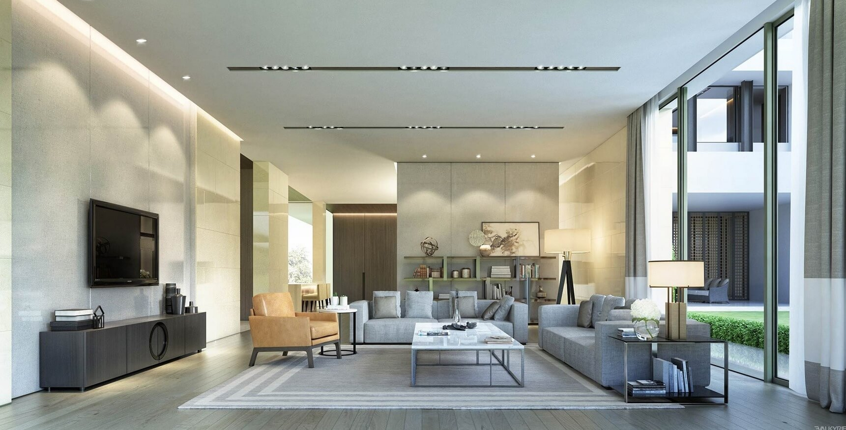 Light Spacious Living Rooms