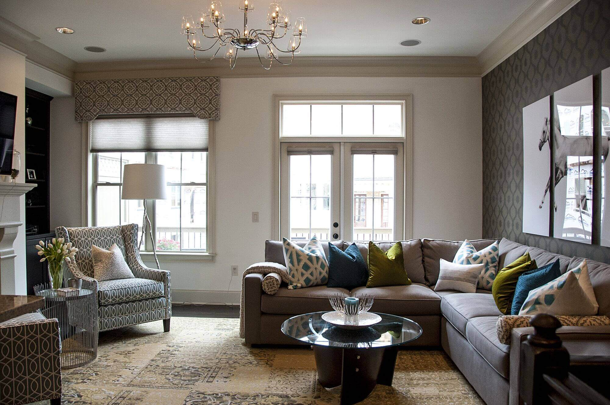 Living Rooms with Sectional Sofas