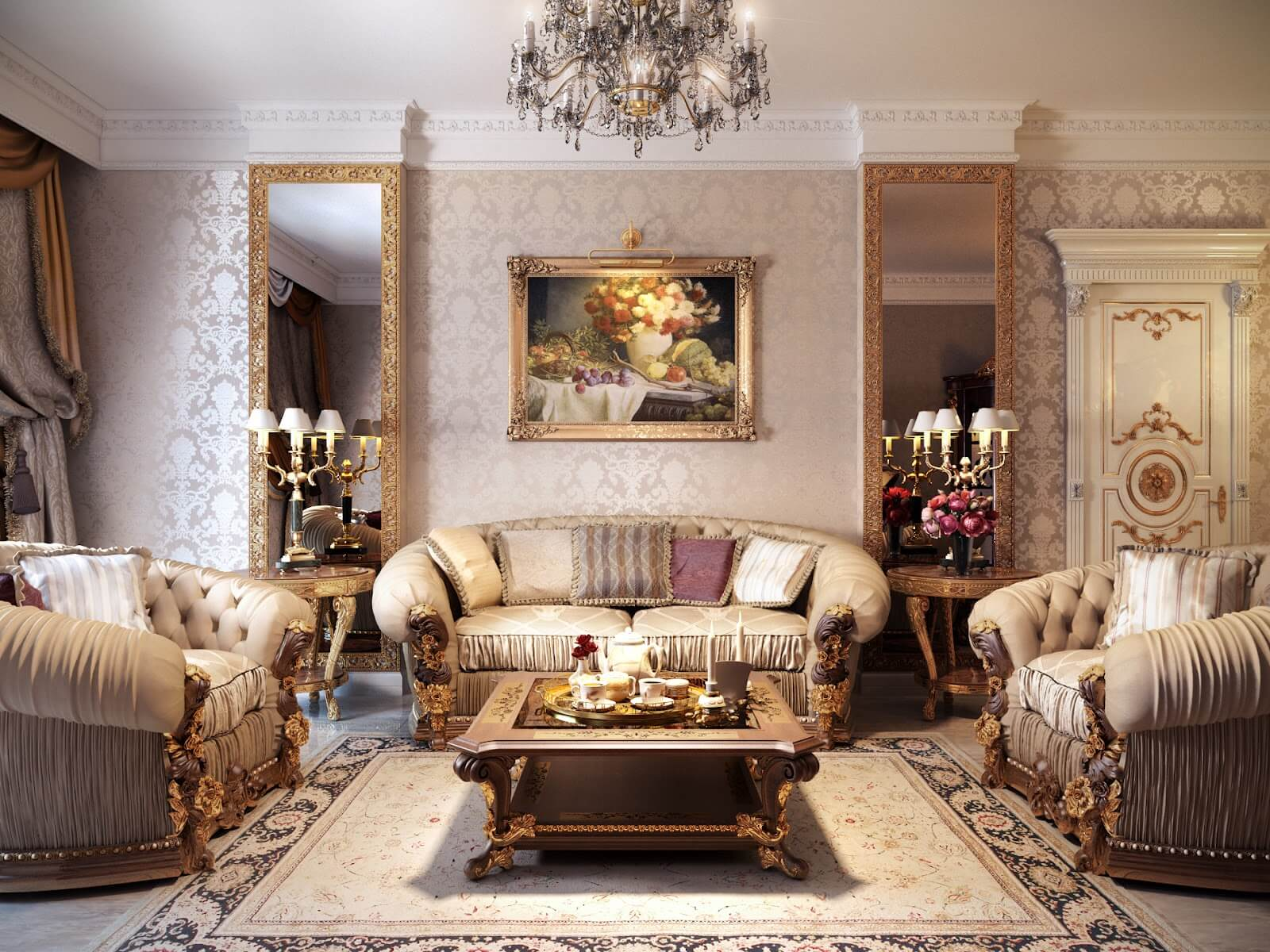 Luxurious Living Rooms Top Designers