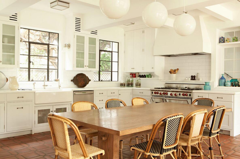 Small Rectangular Cottage Kitchen Sets