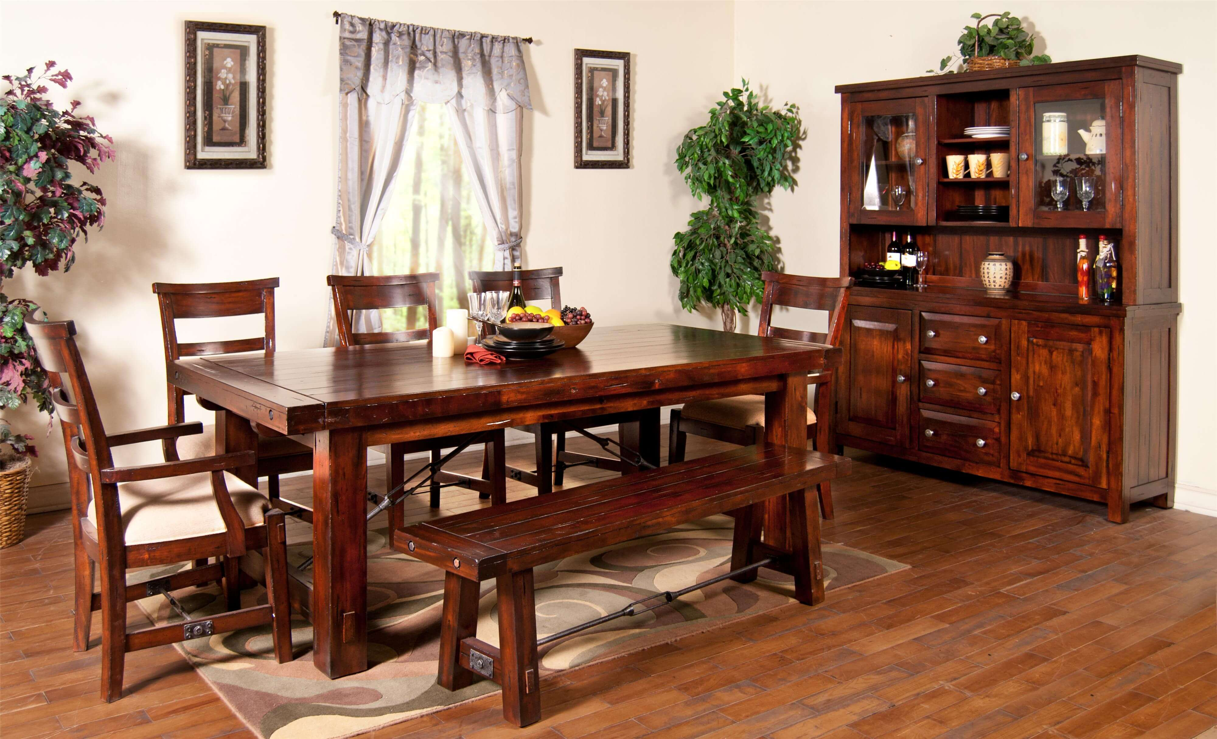 Rectangle Wood Dining Tables