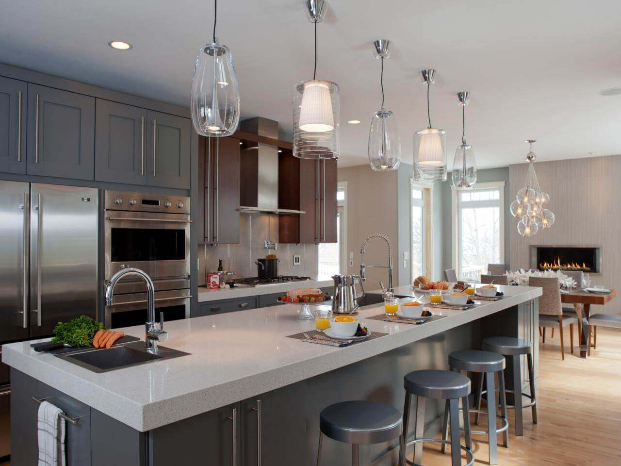 89 contemporary kitchen design ideas gallery contemporary pendant lights for kitchen island