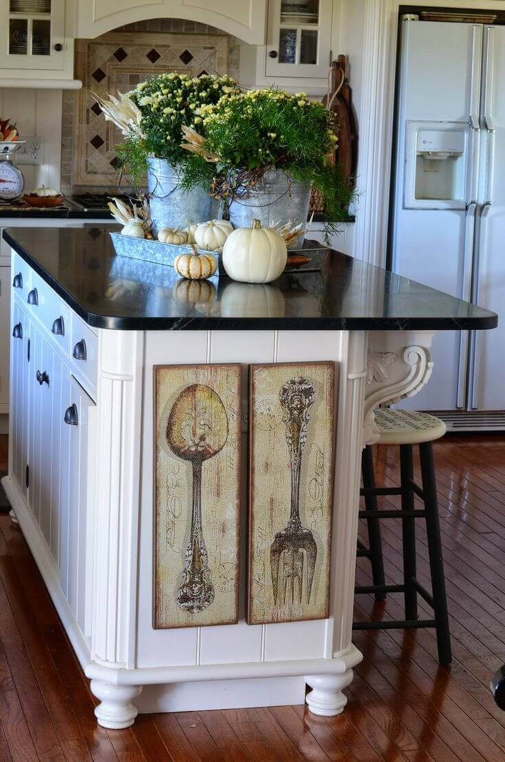 Awesome Kitchen Island Decorating Ideas