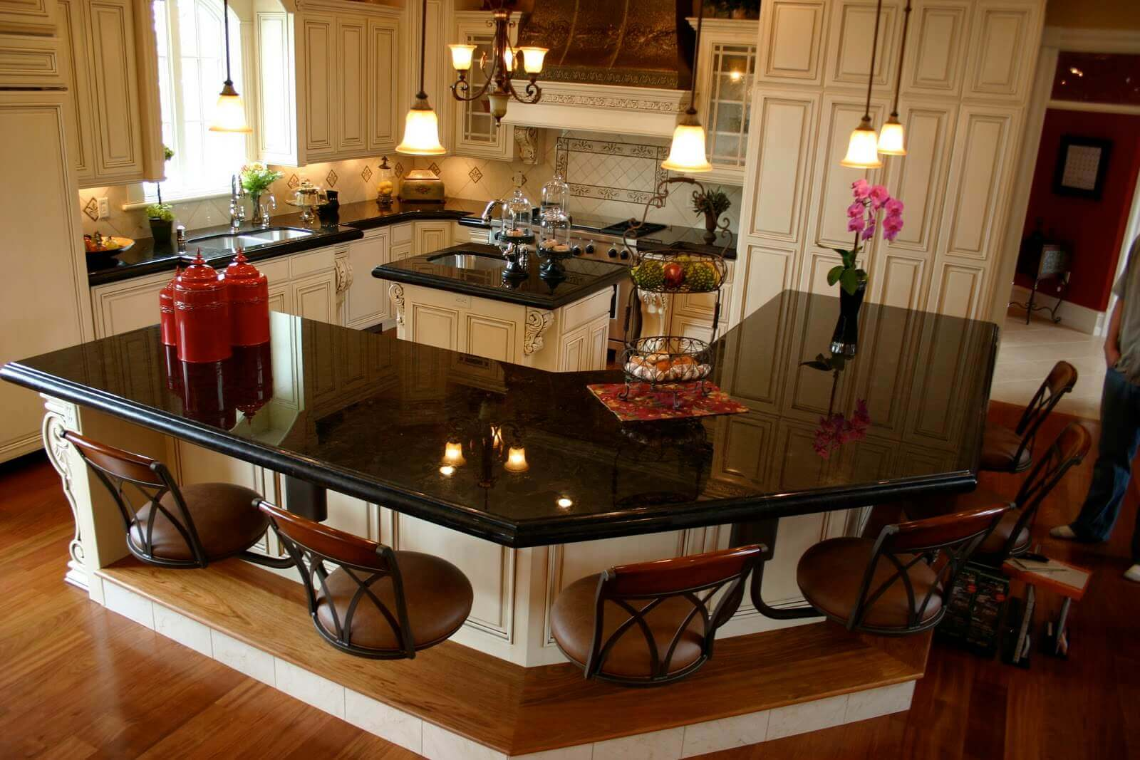 Kitchen Island Knee Space 68+deluxe custom kitchen island ideas (jaw dropping designs)