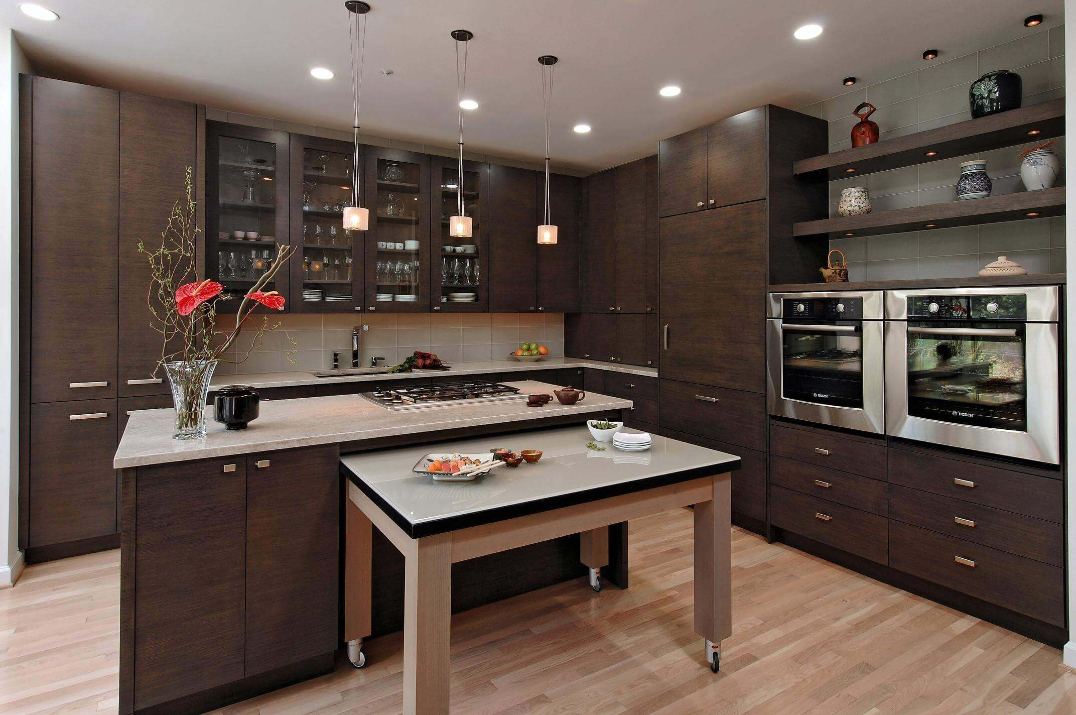 Kitchen Designs Anchor Color Cabinets