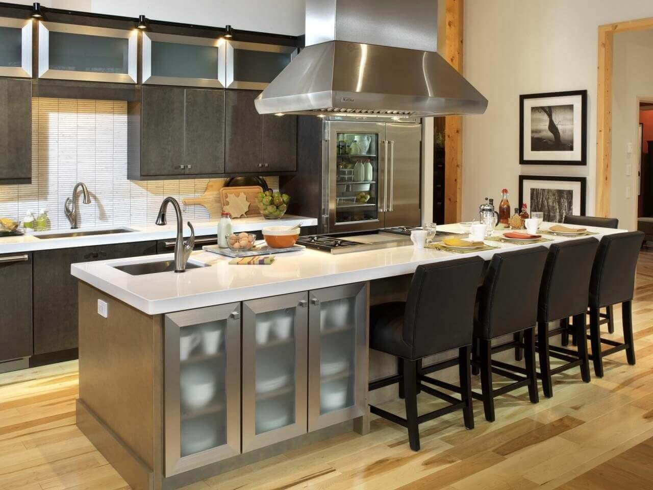 How To Make Kitchen Island With Seating